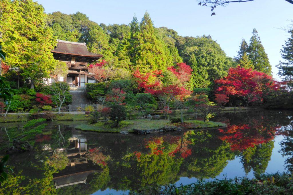 Enjo-ji, Romon (Gate) And Garden