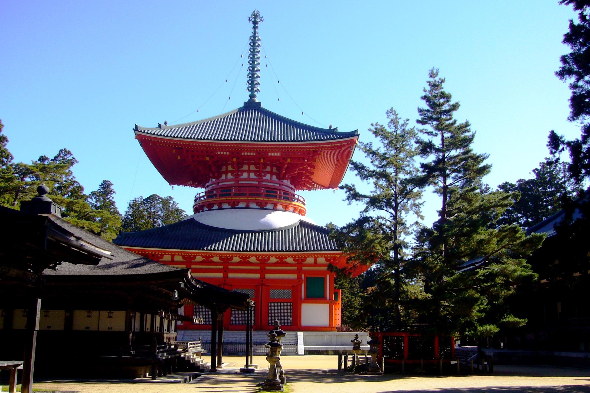 Kongobu-ji, Daito (Pagoda)