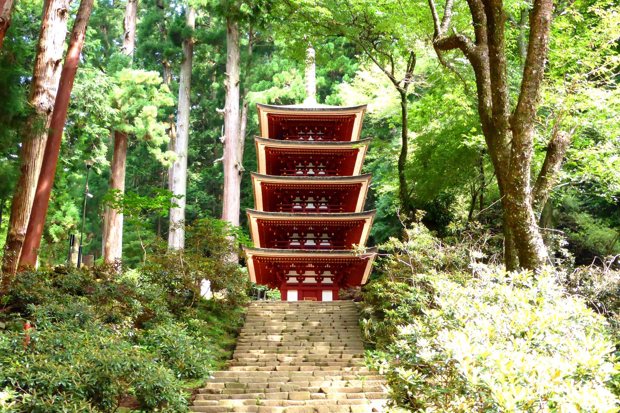 Muro-ji, Goju-no-to (Five-storied Pagoda)