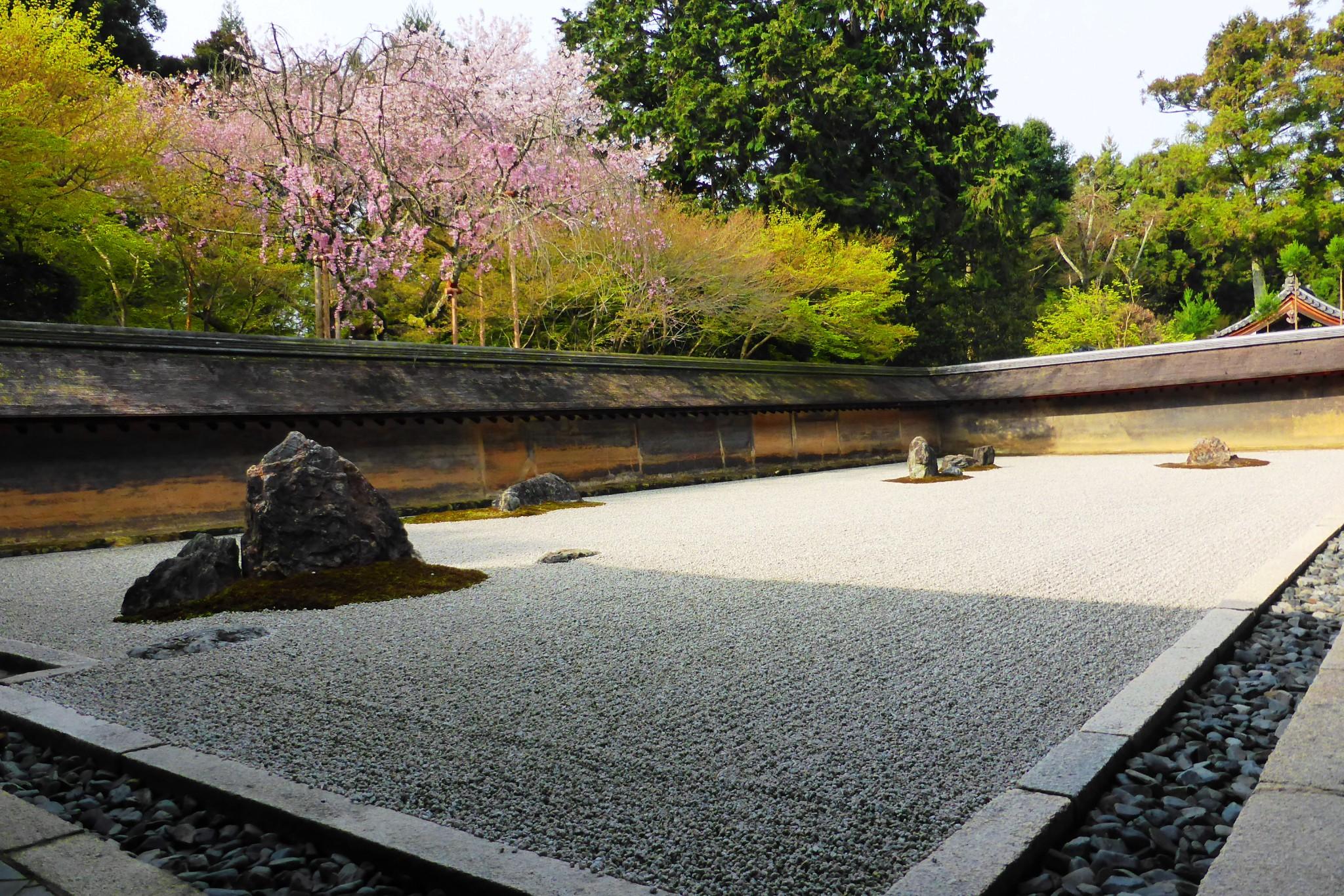 Ryoan-ji, Hojo Teien (Rock Garden)