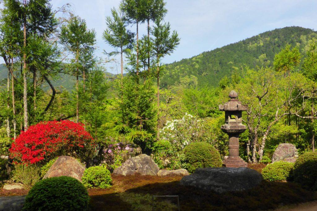 Jikko-in, Rhododendron in Keishin-en (Garden)