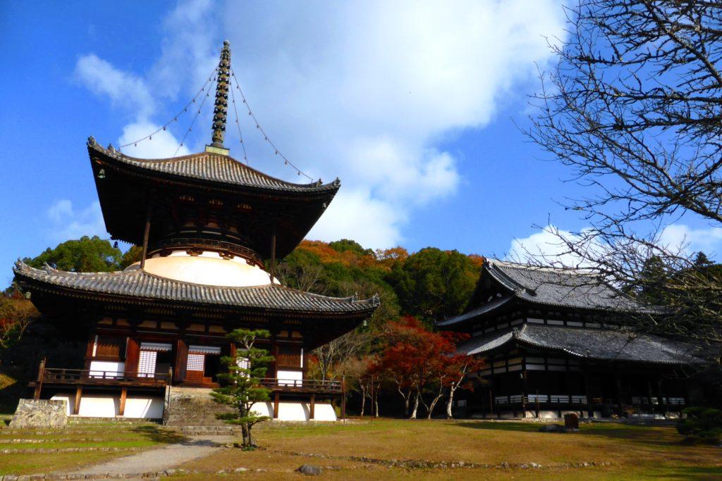 Negoro-ji, Daito (Pagoda) And Daidenpodo (Main Hall)