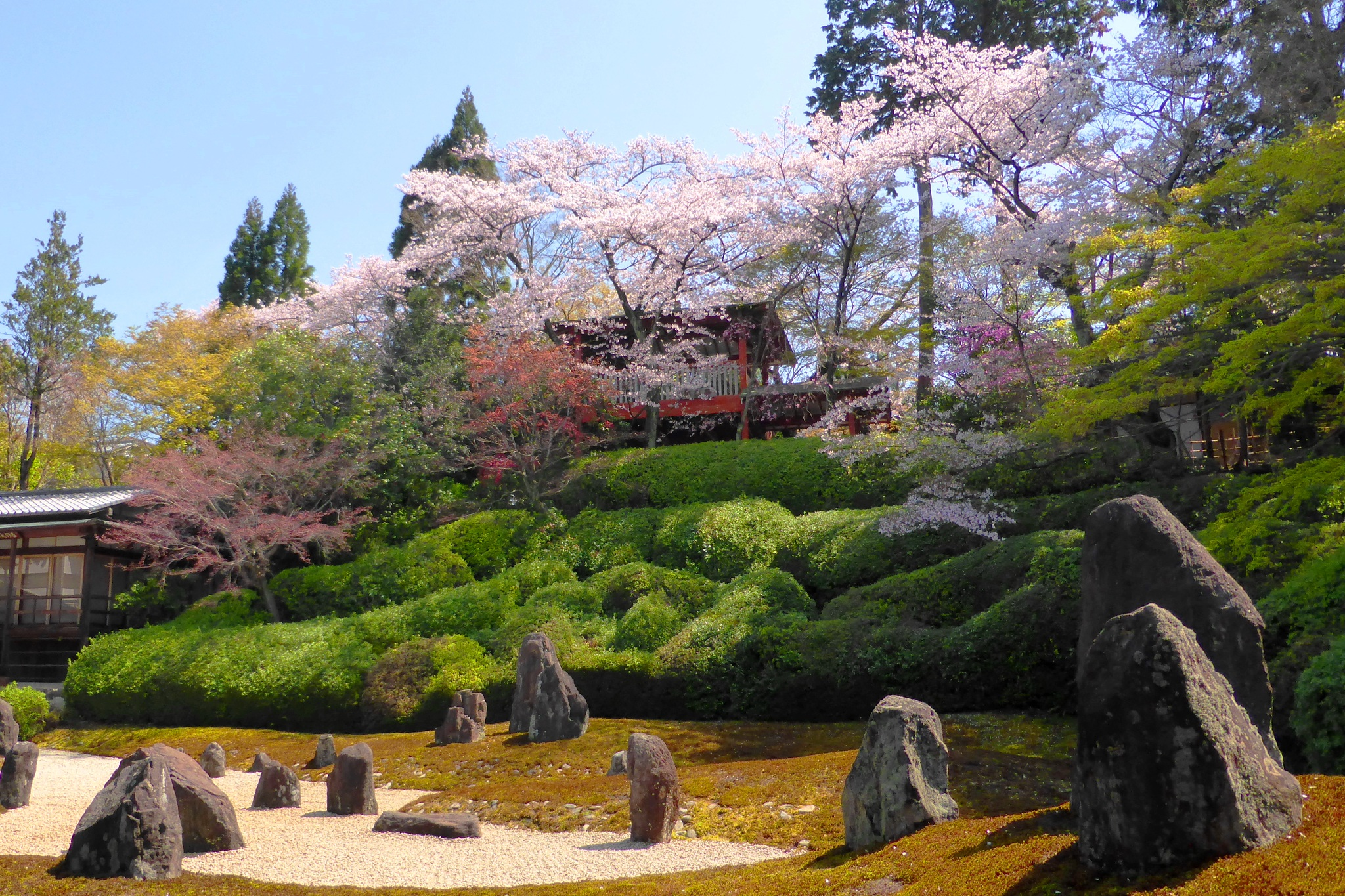 Komyo-in, Hashintei (Garden)