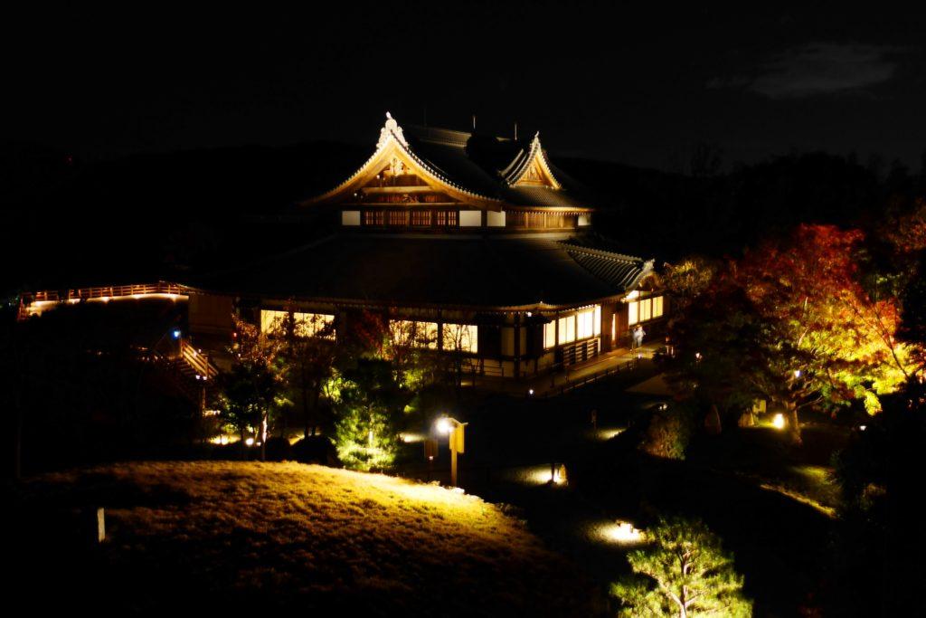 Shogunzuka Seiryu-den, Precincts