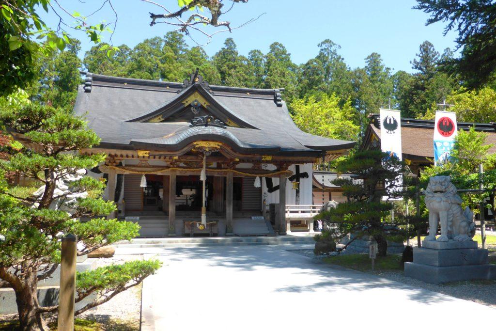 Kumano Hongu Taisha, Haiden (Worship Hall)