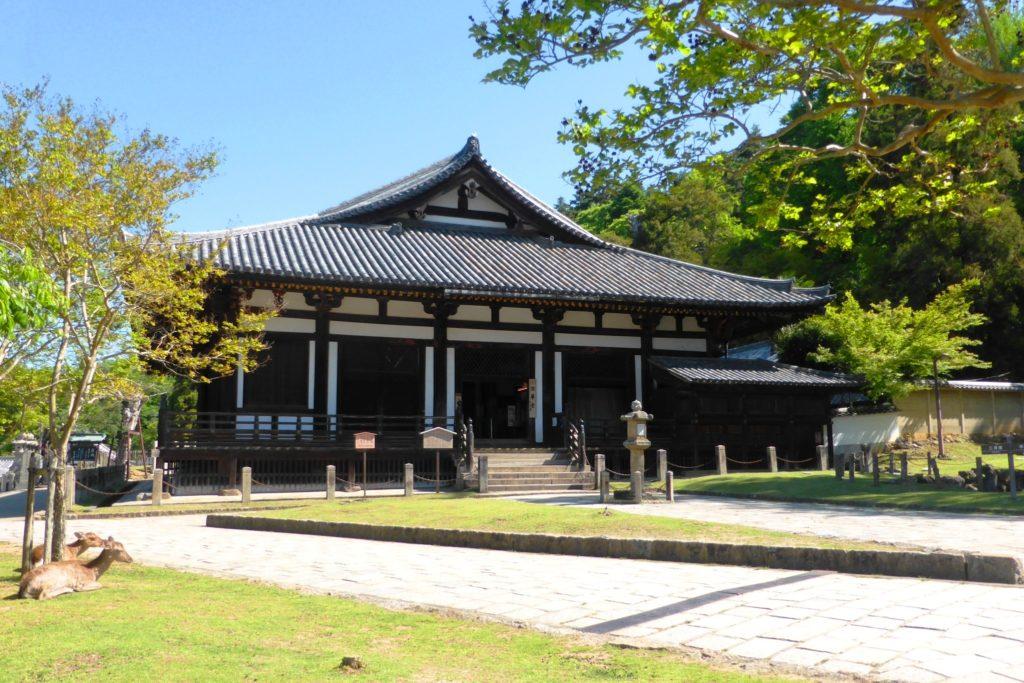 Todai-ji, Hokke-do (Worship Hall)